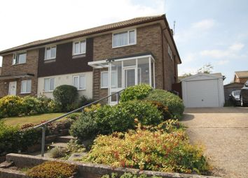 Thumbnail 3 bed semi-detached house for sale in Manor Road, Deal