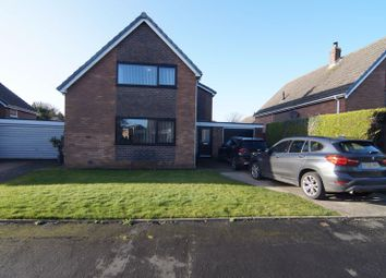 Thumbnail 3 bed detached house for sale in Moreton Drive, Staining, Blackpool