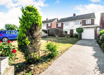 Thumbnail 3 bedroom semi-detached house for sale in Dochdwy Road, Llandough, Penarth