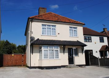 Thumbnail 3 bed detached house for sale in Colchester Road, Harold Wood, Romford