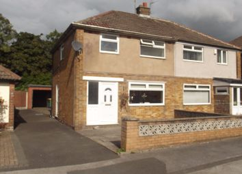 Thumbnail 2 bed semi-detached house to rent in Windermere Road, Fulwood, Preston