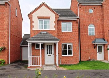 Thumbnail 3 bed detached house for sale in Avon Way, Hilton, Derbyshire