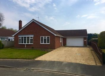 Thumbnail 3 bed bungalow for sale in Field Close, Gosberton, Spalding, Lincolnshire