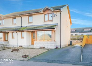 Thumbnail 3 bed semi-detached house for sale in Clubb Crescent, New Deer, Turriff, Aberdeenshire