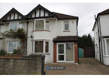 Thumbnail 3 bed semi-detached house to rent in Princes Avenue, Surbiton