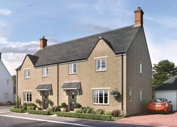 Thumbnail 3 bed detached house for sale in The Ascot, Off Rousham Road, Tackley, Oxfordshire