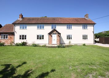 Thumbnail 4 bed detached house to rent in The Old Farmhouse, Shop Lane, Leckhampstead, Newbury, Berkshire