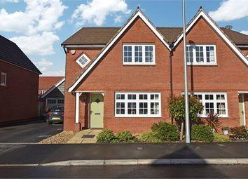 Thumbnail 3 bed semi-detached house for sale in Robin Way, Kingsteignton, Newton Abbot, Devon.