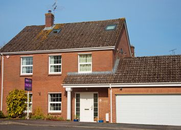 Thumbnail 4 bed detached house for sale in Burdock Close, Goodworth Clatford, Andover