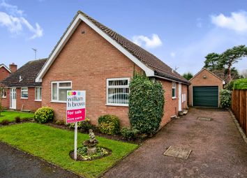 Thumbnail 2 bedroom detached bungalow for sale in Robinson Road, Scole, Diss