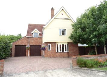 Thumbnail 4 bed detached house for sale in Haughley Green, Stowmarket