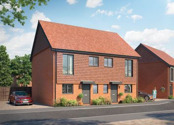 Thumbnail 2 bed semi-detached house for sale in Plot 1 - The Langley, Crowthrone