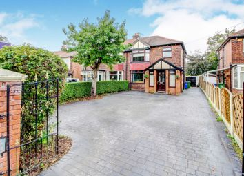 Thumbnail 3 bed semi-detached house for sale in Abingdon Road, Stockport