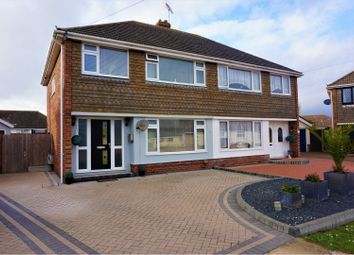 Thumbnail 3 bed semi-detached house for sale in Prince Charles Close, Clacton-On-Sea