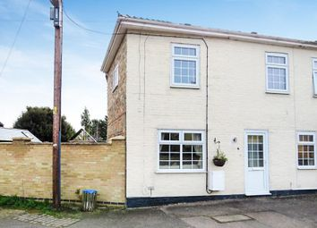 Thumbnail 3 bedroom end terrace house for sale in High Street, Colne, Huntingdon
