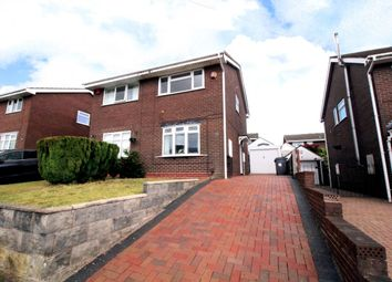 Thumbnail 2 bed semi-detached house for sale in Hemingway Road, Meir Hay, Stoke-On-Trent