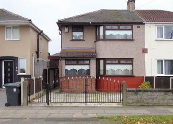 Thumbnail 3 bed semi-detached house for sale in Keble Drive, Liverpool