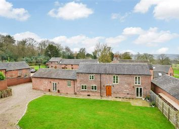 Thumbnail 4 bed barn conversion for sale in Queen Marys Drive, Barlaston, Stoke-On-Trent