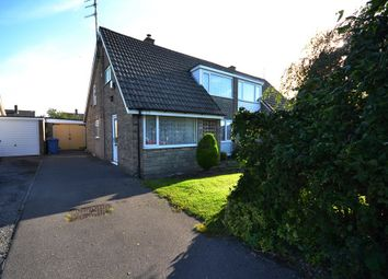 Thumbnail 3 bed semi-detached house for sale in Roxby Gardens, Crossgates, Scarborough