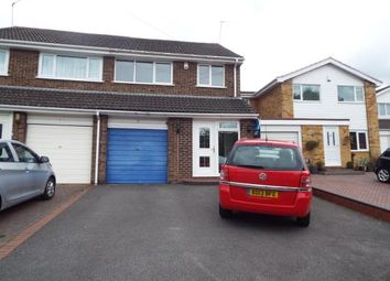 Thumbnail 3 bed semi-detached house for sale in Lammas Close, Solihull, West Midlands