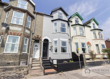Thumbnail 4 bed terraced house for sale in Denmark Road, Lowestoft