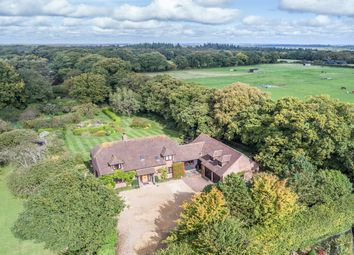Thumbnail 4 bedroom detached house for sale in Hatchet Lane, Beaulieu, Brockenhurst