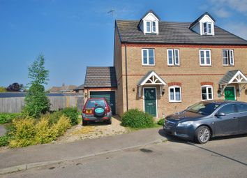 Thumbnail 3 bed semi-detached house for sale in Finlay Close, Spalding