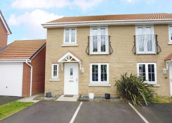 Thumbnail 3 bed semi-detached house for sale in Quintus Place, North Hykeham, Lincoln