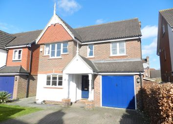 Thumbnail 4 bed detached house to rent in Bridges Close, Horley