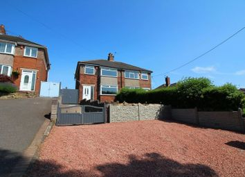 Thumbnail 3 bed semi-detached house for sale in Crown Bank, Talke, Stoke-On-Trent