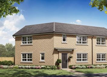 """Thumbnail 3 bedroom detached house for sale in """"Eskdale"""" at Burlow Road, Harpur Hill, Buxton"""