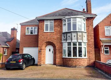 Thumbnail 5 bedroom detached house for sale in Eastwoods Road, Hinckley