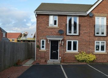 Thumbnail 3 bed semi-detached house for sale in Clarkson Court, Castleford