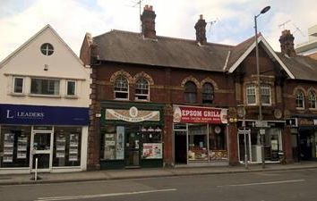 Thumbnail Commercial property for sale in 1 Waterloo Road, Epsom, Surrey