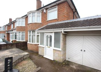 Thumbnail 3 bed semi-detached house for sale in Westover Road, Leicester