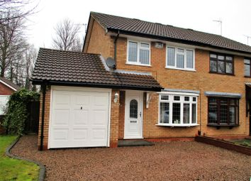 Thumbnail 3 bed semi-detached house for sale in Blackbrook Way, Wolverhampton