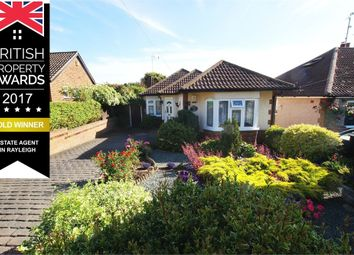 Thumbnail 3 bed detached bungalow for sale in Upway, Rayleigh, Essex