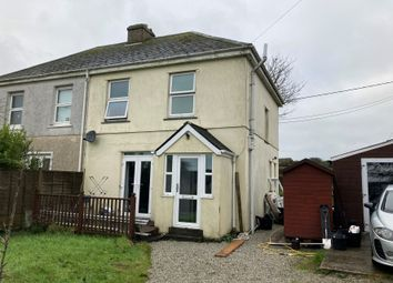 Thumbnail 3 bed semi-detached house for sale in 6 Ruby Terrace, Porkellis, Helston, Cornwall