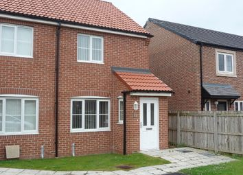 Thumbnail 2 bed end terrace house to rent in Speedwell Close, Bishop Cuthbert, Hartlepool.