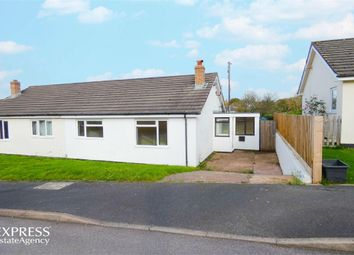 Thumbnail 2 bed semi-detached bungalow for sale in Brooke Road, Witheridge, Tiverton, Devon