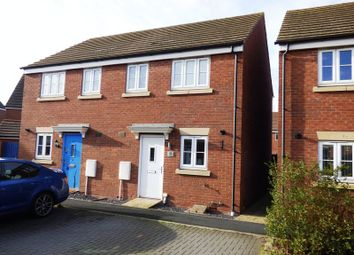 Thumbnail 2 bed semi-detached house for sale in Wagon Way, Hempsted, Gloucester