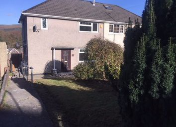 Thumbnail 3 bed semi-detached house to rent in Cefn Lane, Glyncoch