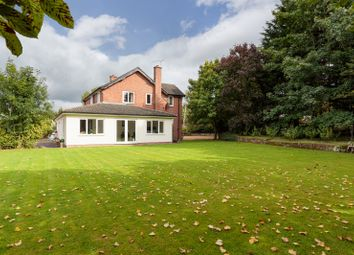 Thumbnail 4 bed detached house for sale in Kelsall Road, Tarvin, Chester