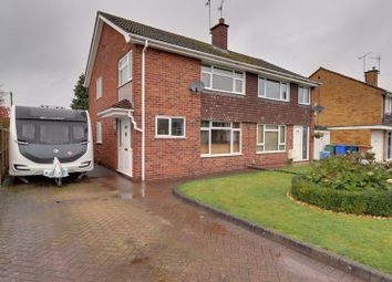Thumbnail 3 bed semi-detached house for sale in Winsford Crescent, Stafford