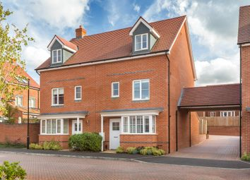 "Thumbnail 4 bedroom end terrace house for sale in ""Woodvale"" at Walworth Road, Picket Piece, Andover"