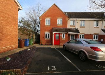 Thumbnail 3 bed end terrace house for sale in Truro Close, Rugeley, Staffordshire