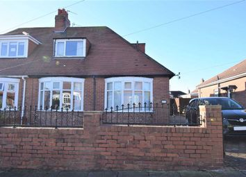 Thumbnail 2 bed semi-detached bungalow for sale in Hemsley Road, South Shields