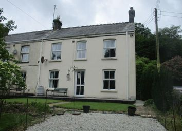 Thumbnail 3 bed end terrace house for sale in Trethowel, St. Austell
