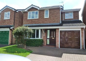 Thumbnail 4 bedroom detached house to rent in Bromyard Drive, Chellaston, Derby