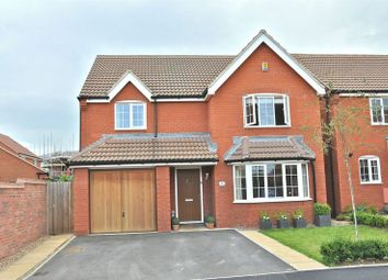 Thumbnail 4 bed detached house for sale in Biffin Close, Evesham